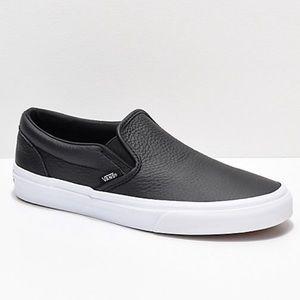 Vans tumbled leather Classic Sneaker Sz Women's 7